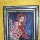 Arte: PINTURA VIRGEN CON NIÑO. Lote 134431254