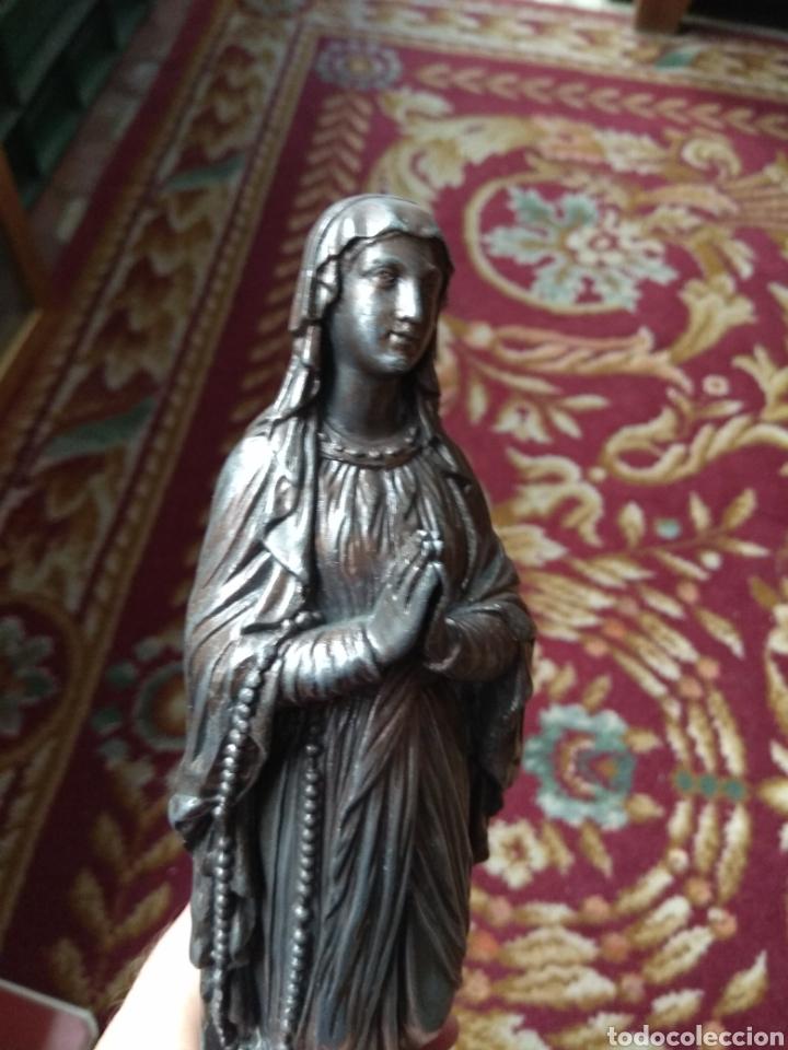 Arte: Escultura Virgen de Lourdes Calamina - Foto 5 - 134712946