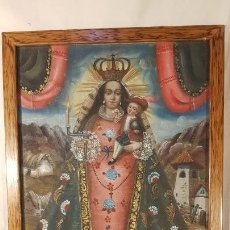 Arte: VIRGEN DE LA CANDELARIA. Lote 114313751