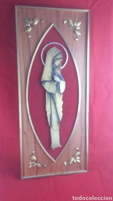 CUADRO VIRGEN (Arte - Arte Religioso - Pintura Religiosa - Otros)