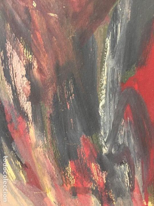 Arte: TEMPERA GOUACHE PAPEL SOBRE TABLA ANUNCIACION TRINIDAD SOTOS BAYARRI CATALUÑA CANTABRIA 88X65CMS - Foto 21 - 135694211