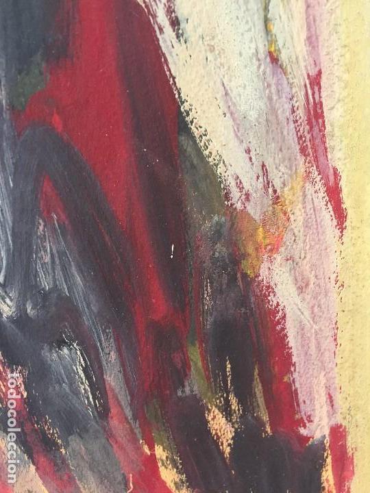 Arte: TEMPERA GOUACHE PAPEL SOBRE TABLA ANUNCIACION TRINIDAD SOTOS BAYARRI CATALUÑA CANTABRIA 88X65CMS - Foto 22 - 135694211