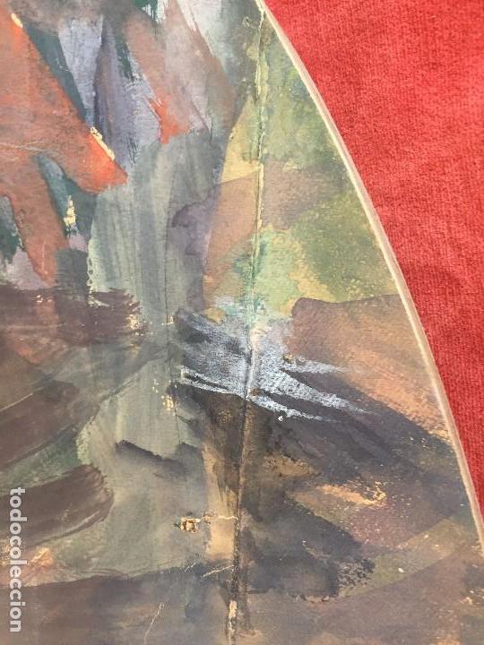 Arte: TEMPERA GOUACHE PAPEL SOBRE TABLA ANUNCIACION TRINIDAD SOTOS BAYARRI CATALUÑA CANTABRIA 88X65CMS - Foto 24 - 135694211