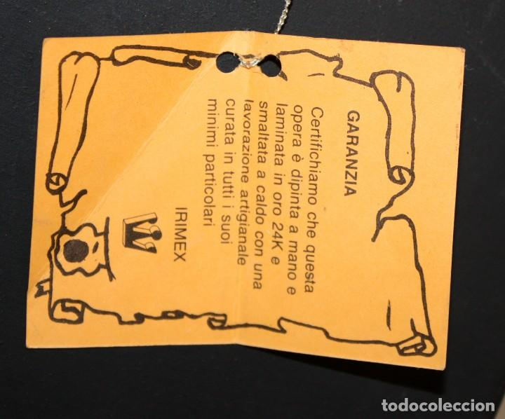 Arte: BONITO ICONO EN PLATA Y PLATA DORADA-VIRGEN Y NIÑO- ENMARCADO. - Foto 4 - 135699803
