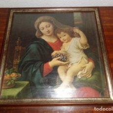 Arte: SEÑORA CON EL NIÑO JESÚS. Lote 136036406