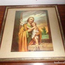Arte: JOSE CON JESUS. Lote 136037374