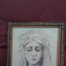 Arte: SEMANA SANTA SEVILLA - HDAD DEL BARATILLO - ACUARELA NTRA SRA DE LA PIEDAD - FIRMADA P. CASABONA . Lote 136168978