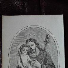 Arte: SAN JOSÉ GRABADOS SIGLO 19. Lote 136187802
