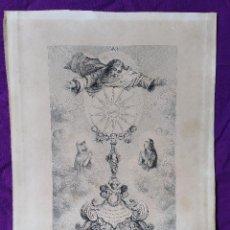 Arte: GRABADO ASOCIACIÓN SAN SULPICIO SIGLO XVII--XVIII. Lote 136590254