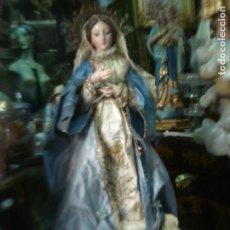 Arte: INMACULADA CONCEPCIÓN TALLA CAP I POTA SXIX. Lote 136711146