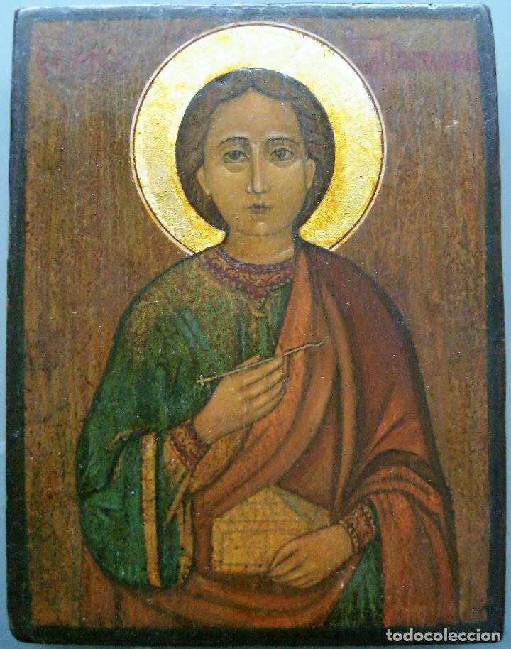 SAN PANTELEMON (Arte - Arte Religioso - Iconos)