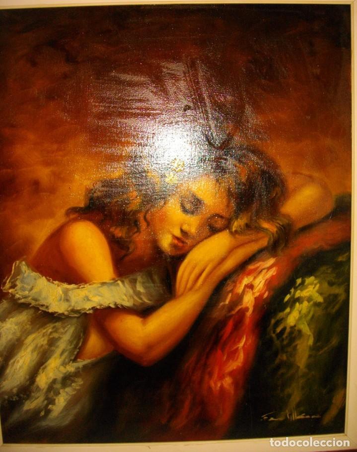 Arte: excelente SEGUNDO MATILLA 1862- 1937 OLEO SOBRE LIENZO FIRMADO - Foto 2 - 137215206