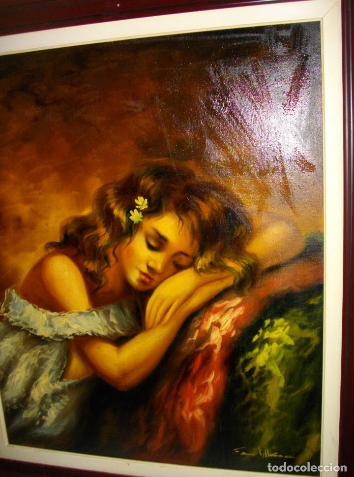 Arte: excelente SEGUNDO MATILLA 1862- 1937 OLEO SOBRE LIENZO FIRMADO - Foto 4 - 137215206