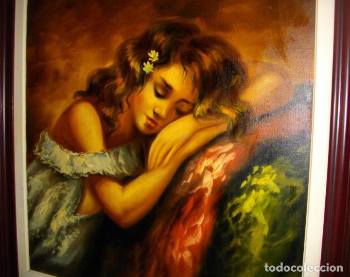 Arte: excelente SEGUNDO MATILLA 1862- 1937 OLEO SOBRE LIENZO FIRMADO - Foto 5 - 137215206