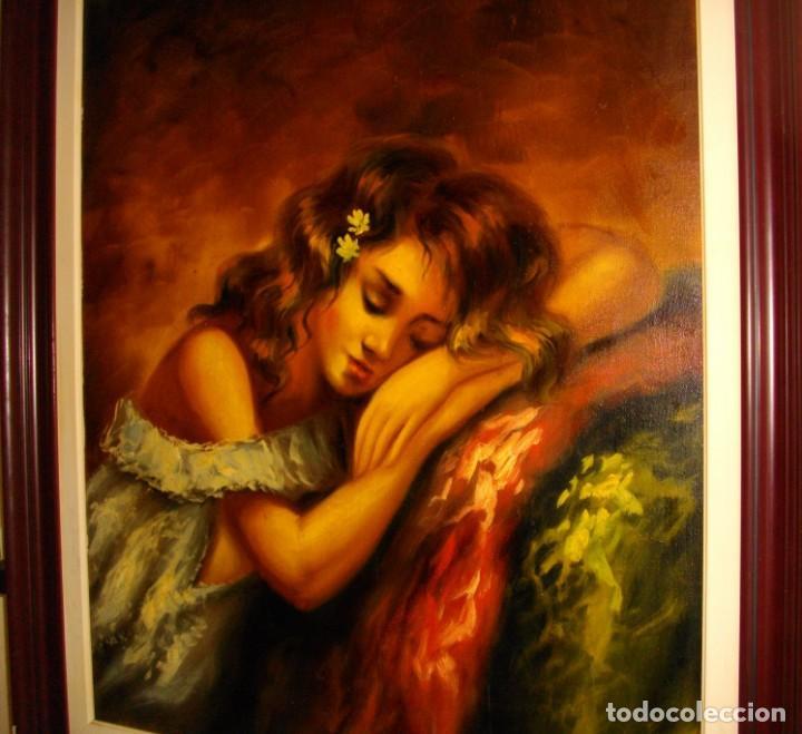 Arte: excelente SEGUNDO MATILLA 1862- 1937 OLEO SOBRE LIENZO FIRMADO - Foto 6 - 137215206