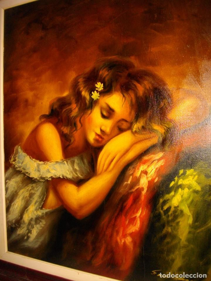 Arte: excelente SEGUNDO MATILLA 1862- 1937 OLEO SOBRE LIENZO FIRMADO - Foto 9 - 137215206