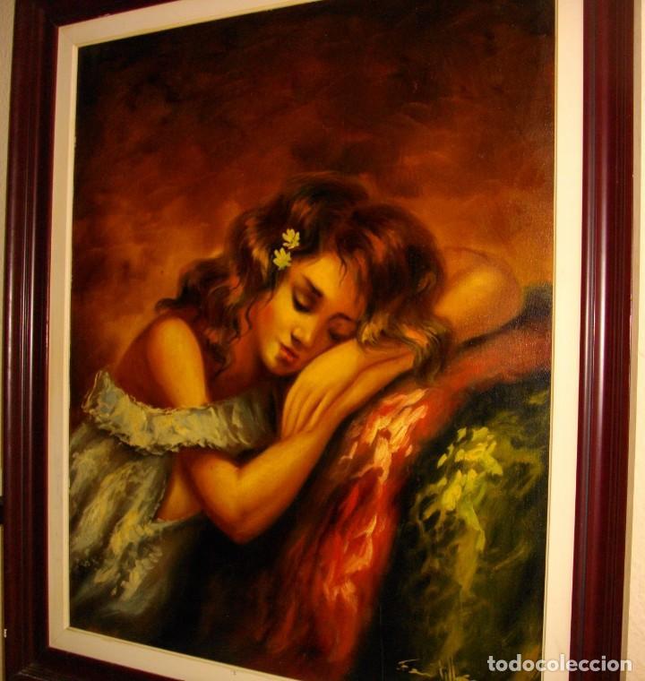 Arte: excelente SEGUNDO MATILLA 1862- 1937 OLEO SOBRE LIENZO FIRMADO - Foto 10 - 137215206
