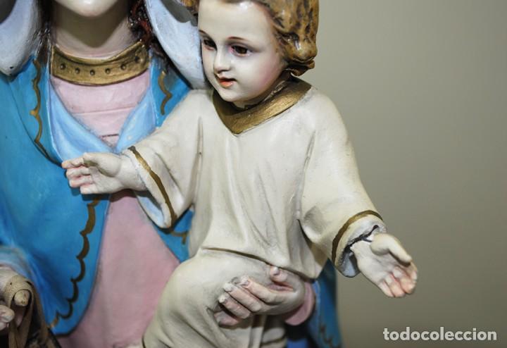 Arte: IMAGEN RELIGIOSA VIRGEN DEL ROSARIO - Foto 3 - 137387494