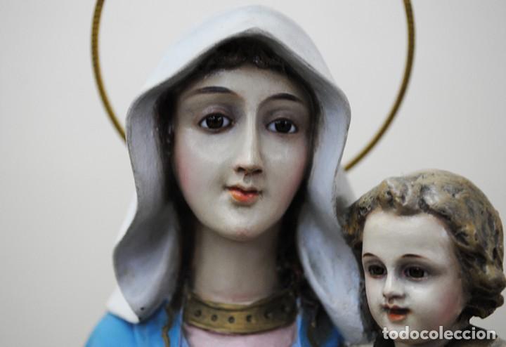 Arte: IMAGEN RELIGIOSA VIRGEN DEL ROSARIO - Foto 4 - 137387494