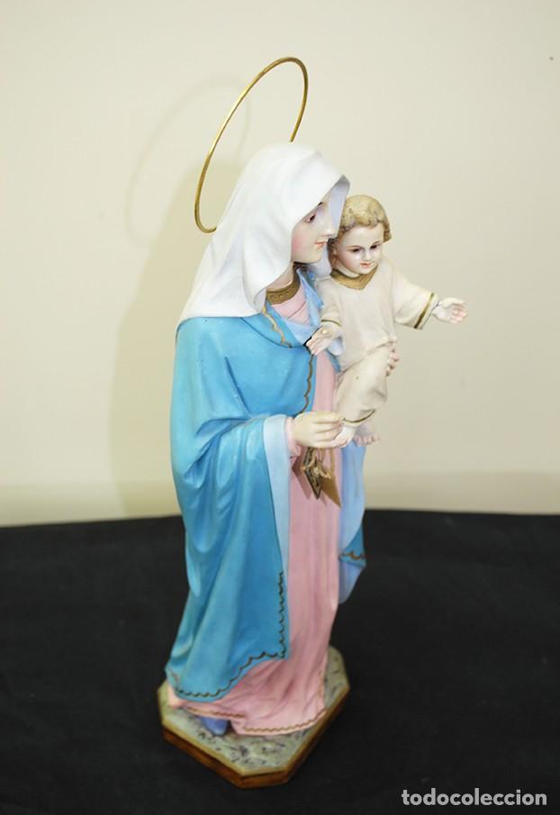 Arte: IMAGEN RELIGIOSA VIRGEN DEL ROSARIO - Foto 6 - 137387494