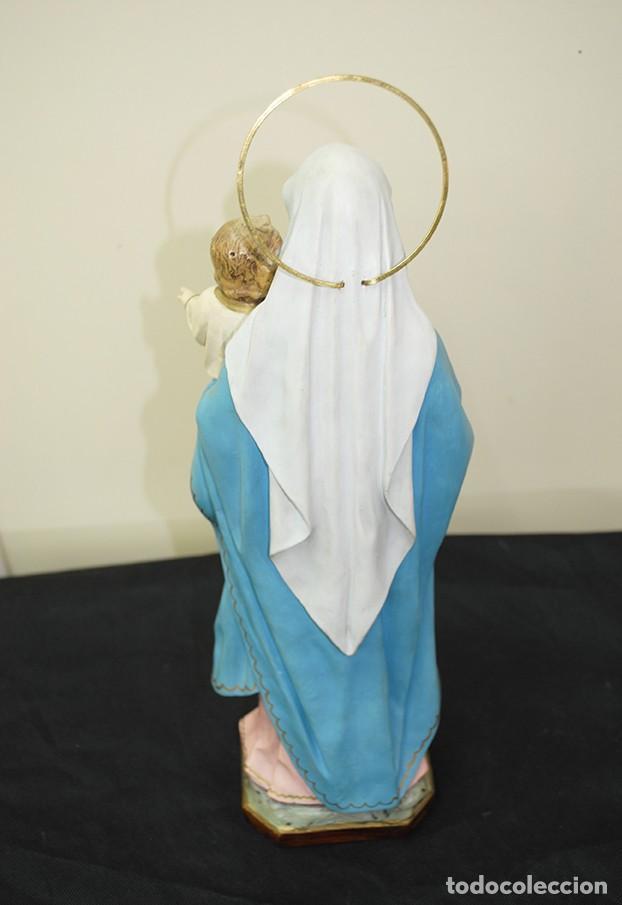 Arte: IMAGEN RELIGIOSA VIRGEN DEL ROSARIO - Foto 8 - 137387494