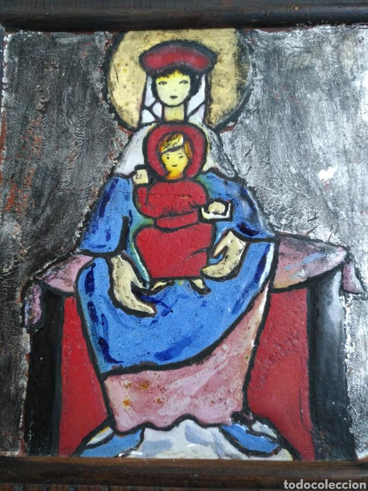 VIRGEN EN RELIEVE (Arte - Arte Religioso - Iconos)