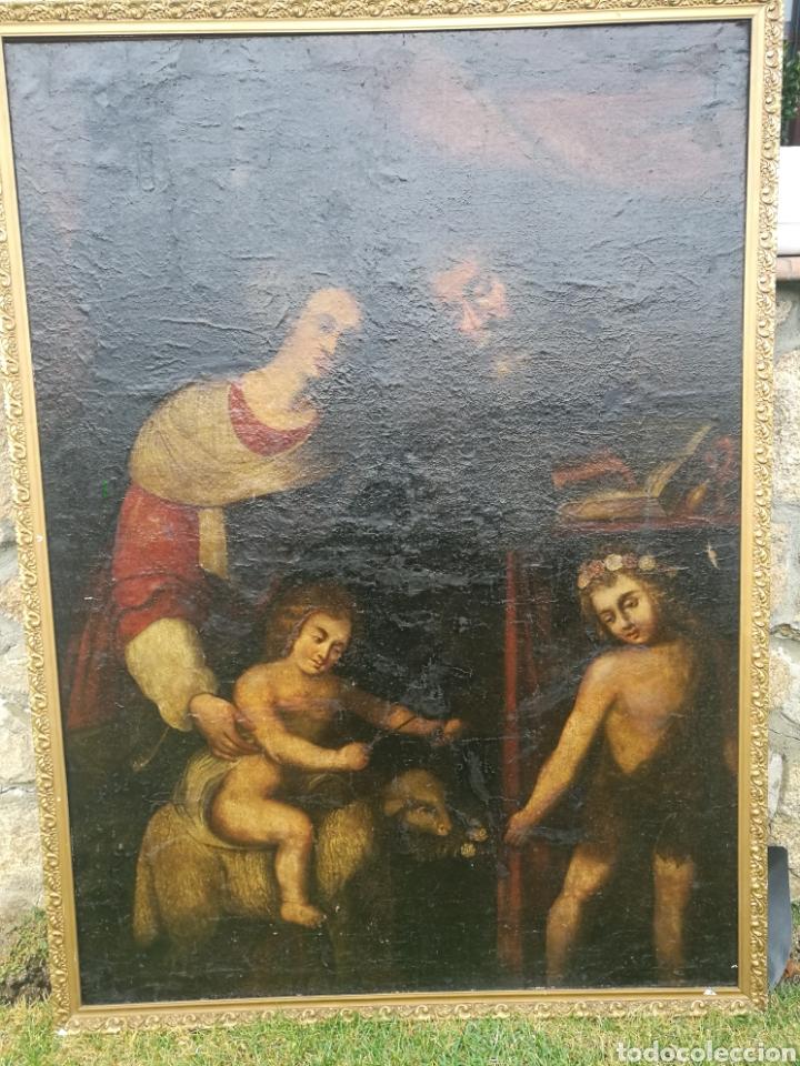 PINTURA ÓLEO SIGLO XVII.XVIII (Arte - Arte Religioso - Pintura Religiosa - Oleo)