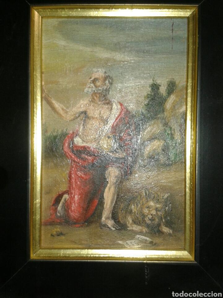 Arte: ANTIGUA PINTURA AL OLEO SOBRE TABLA - Foto 2 - 138285784