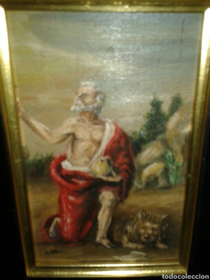 Arte: ANTIGUA PINTURA AL OLEO SOBRE TABLA - Foto 3 - 138285784