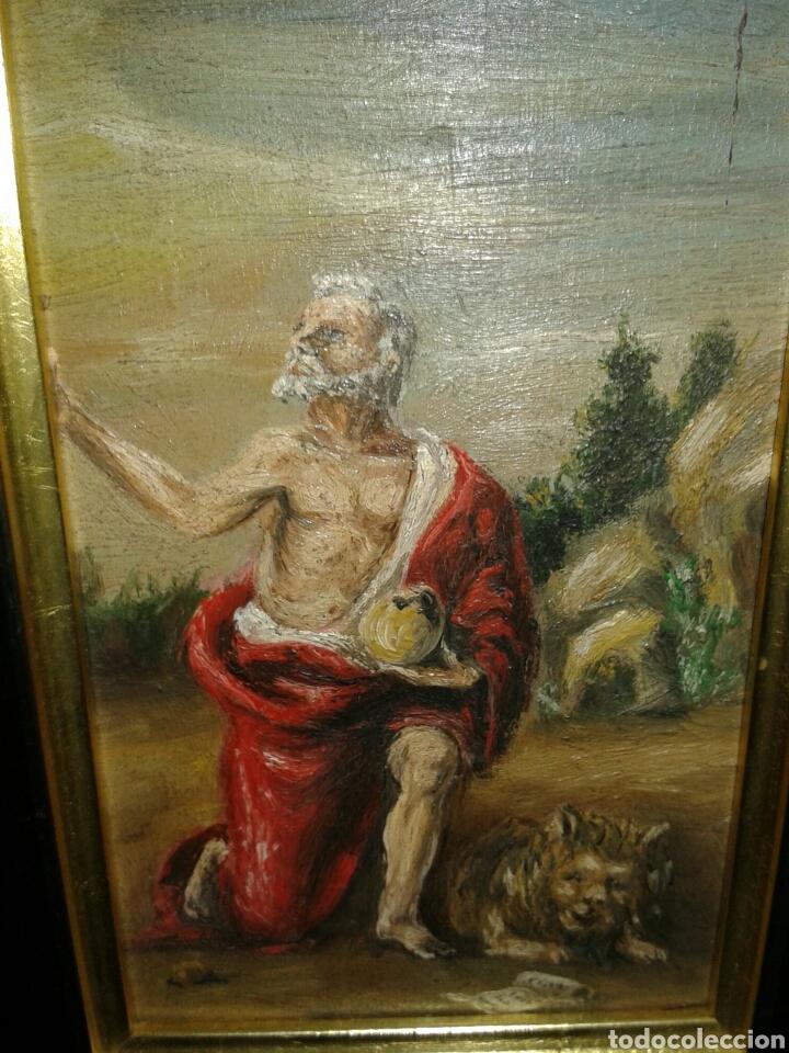 Arte: ANTIGUA PINTURA AL OLEO SOBRE TABLA - Foto 4 - 138285784