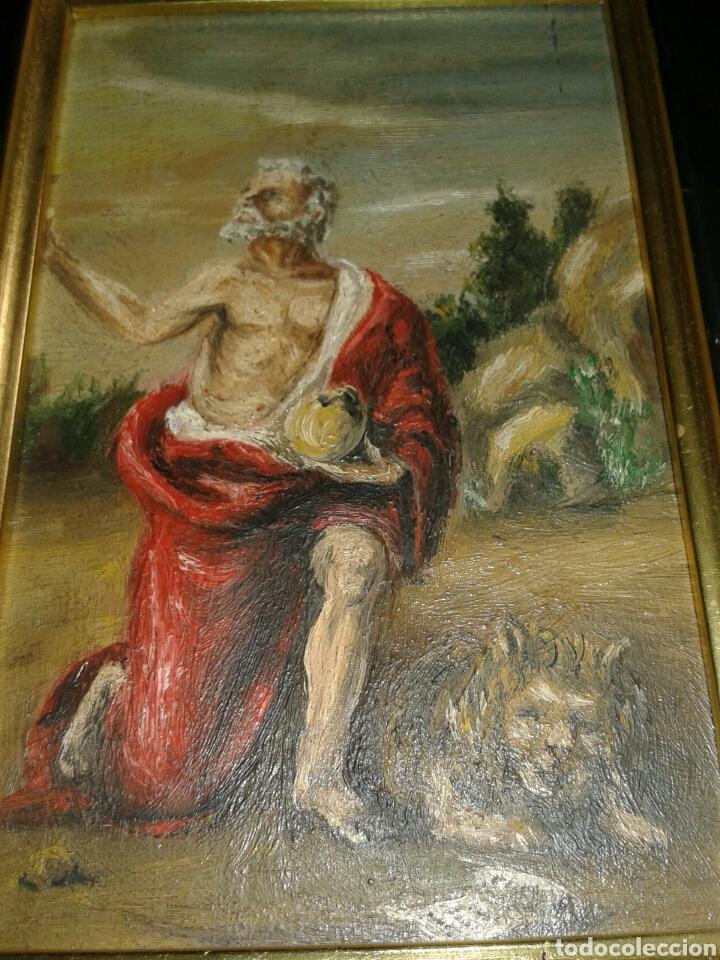 Arte: ANTIGUA PINTURA AL OLEO SOBRE TABLA - Foto 5 - 138285784