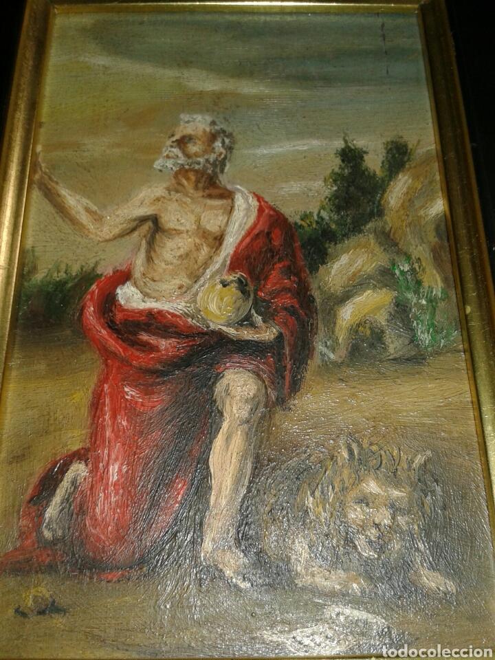 Arte: ANTIGUA PINTURA AL OLEO SOBRE TABLA - Foto 6 - 138285784
