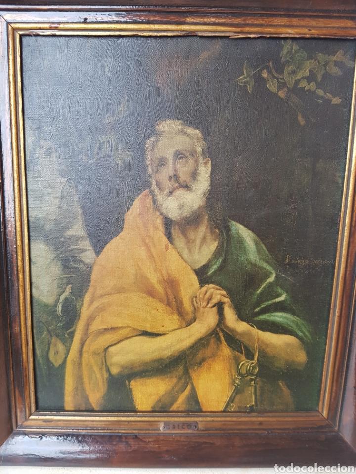 SANTIAGO EL MAYOR, EL GRECO. LÁGRIMAS DE SAN PEDRO. (Arte - Arte Religioso - Pintura Religiosa - Otros)