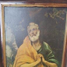 Arte: SANTIAGO EL MAYOR, EL GRECO. LÁGRIMAS DE SAN PEDRO.. Lote 138302920