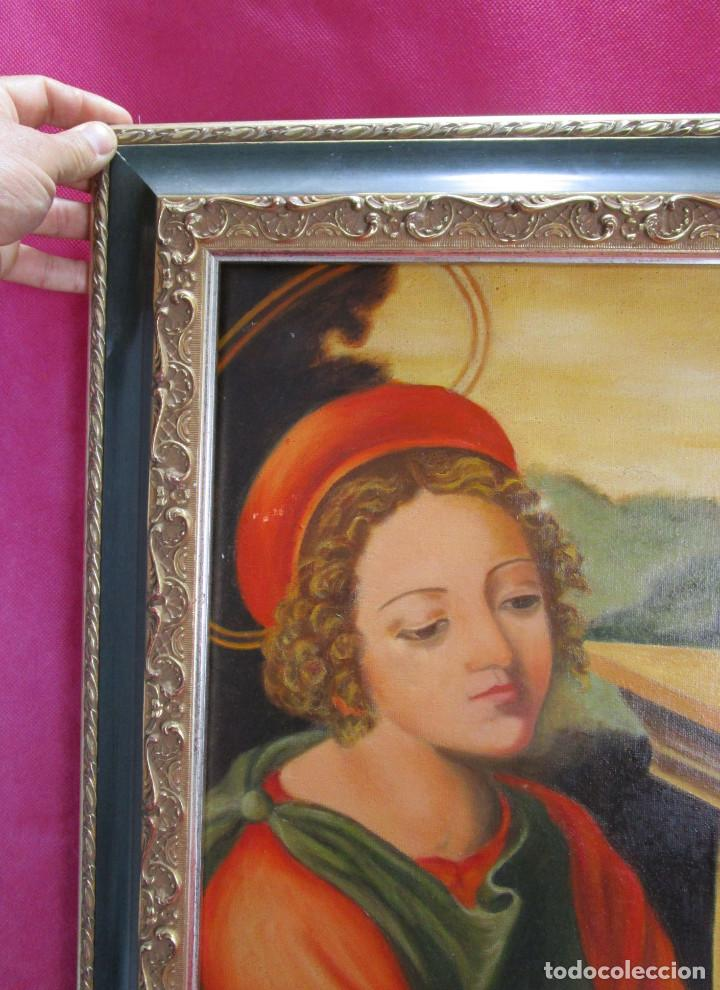 Arte: PRECIOSA ESCENA RELIGIOSA IMAGEN SANTA DOROTEA Y SAN TEOFILO S. XX ELENA ALAGARDA - Foto 3 - 138664194