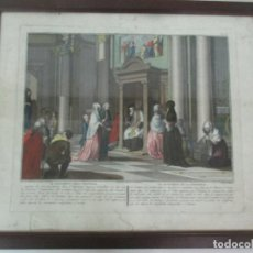 Arte: ANTIGUO GRABADO - ANTONIO BARATTI, ITALIA (BELLUSO 1724 - VENICE 1787). Lote 138758262