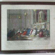 Arte: ANTIGUO GRABADO - ANTONIO BARATTI, ITALIA (BELLUSO 1724 - VENICE 1787) . Lote 138760278