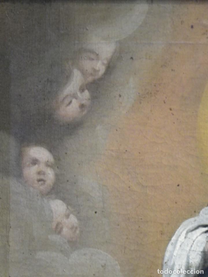 Arte: Inmaculada Concepción óleo siglo XIX - Foto 8 - 138806234
