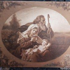Arte: SAGRADA FAMILIA AUTOR ANONIMO. Lote 138824281