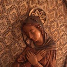 Arte: IMPRESIONANTE CAPILLA CON IMAGEN DE LA VIRGEN. Lote 137245900
