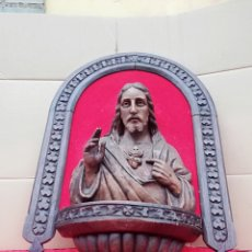 Arte: IMPRESIONANTE TALLA RELIGIOSA SIGLO XVIII. Lote 140124400