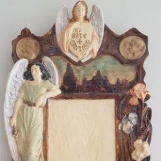 Arte: ARTE CRISTIANO OLOT - PLAFÓN,VAYREDA.PASTA DE MADERA.GERONA.SXX.RARO.. Lote 139039180