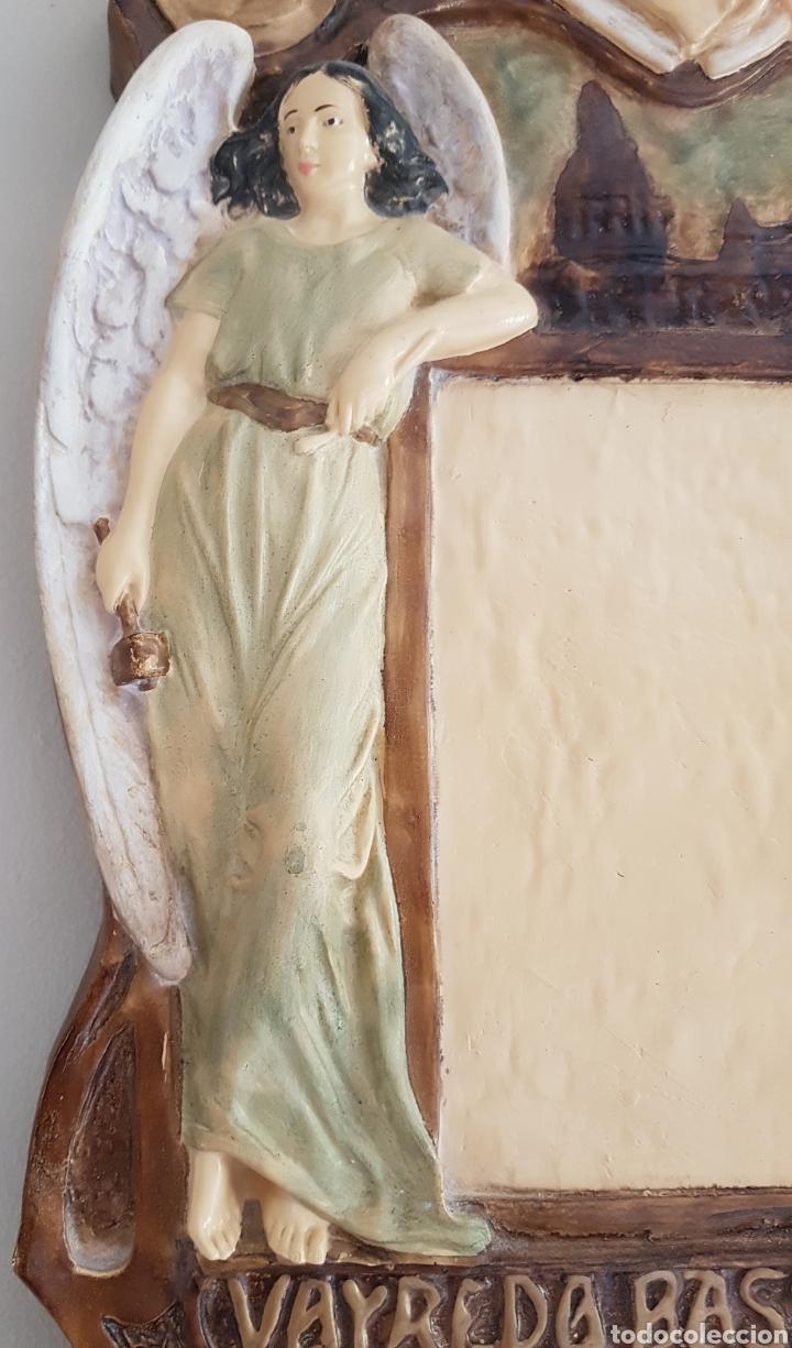 Arte: Arte Cristiano olot - Plafón,Vayreda.Pasta de madera.Gerona.SXX.Raro. - Foto 4 - 139039180