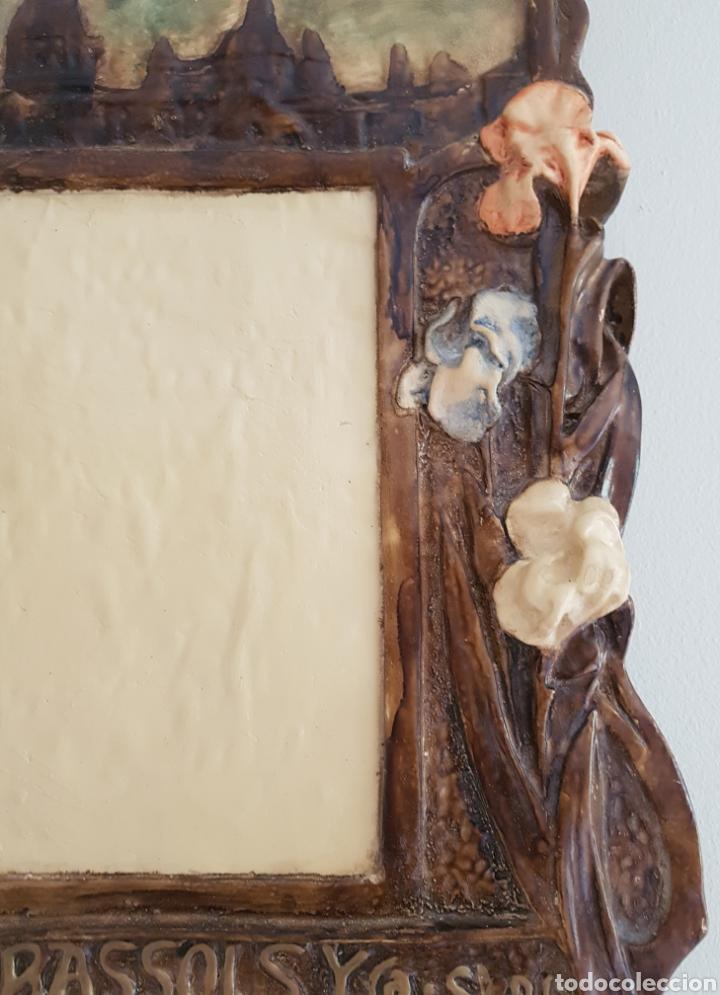 Arte: Arte Cristiano olot - Plafón,Vayreda.Pasta de madera.Gerona.SXX.Raro. - Foto 5 - 139039180