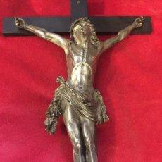 Arte: CRISTO BRONCE CRUCIFICADO SIGLO XVII. Lote 138955657