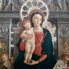 Arte: TRÍPTICO RELIGIOSO EN MADERA.. Lote 139249098