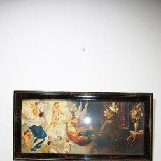 Arte: LITOGRAFÍA ANTIGUA SAN ANTONIO Y LOS ÁNGELES. Lote 139302982