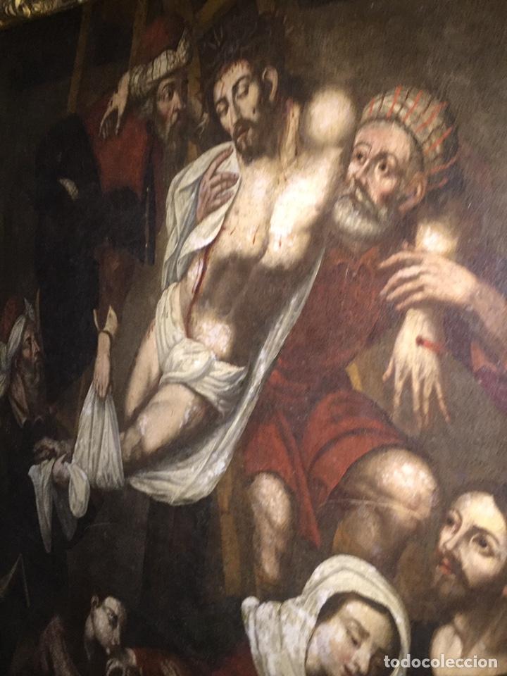 ÓLEO SOBRE TELA ESCUELA ANDALUZA(PIEZA PARA VER EN MALLORCA) (Arte - Arte Religioso - Pintura Religiosa - Oleo)
