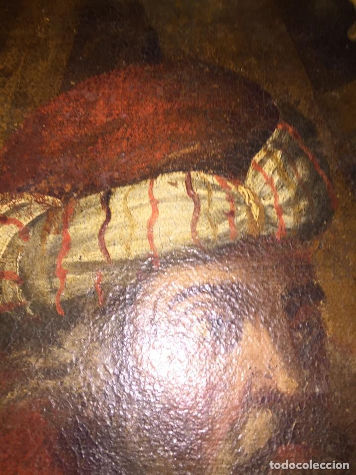 Arte: Óleo sobre tela escuela andaluza(pieza para ver en Mallorca) - Foto 6 - 195150618