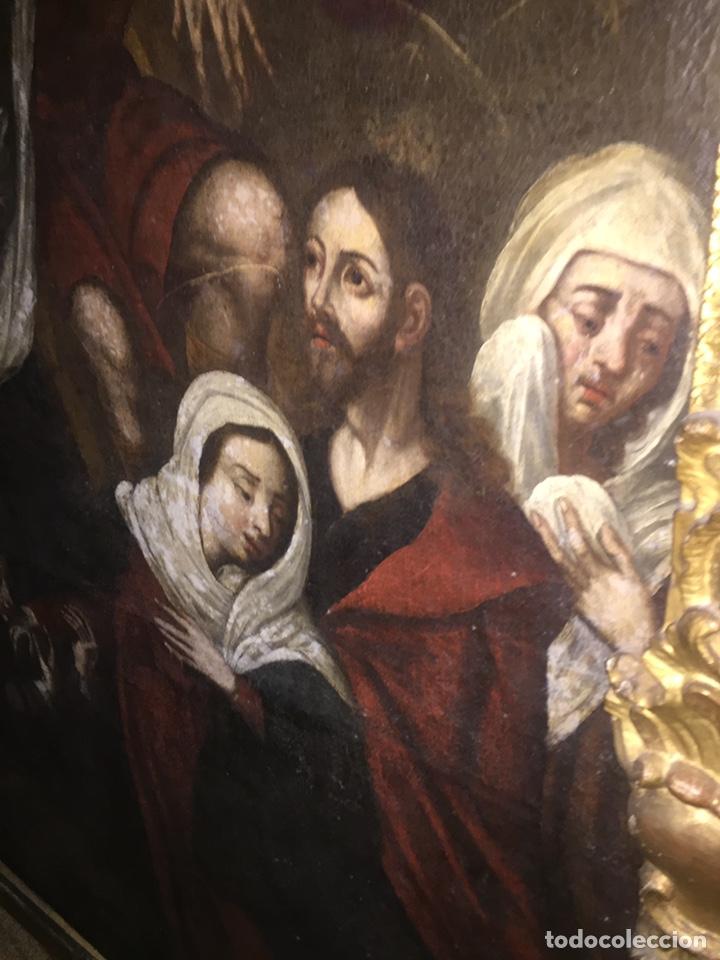 Arte: Óleo sobre tela escuela andaluza(pieza para ver en Mallorca) - Foto 10 - 195150618